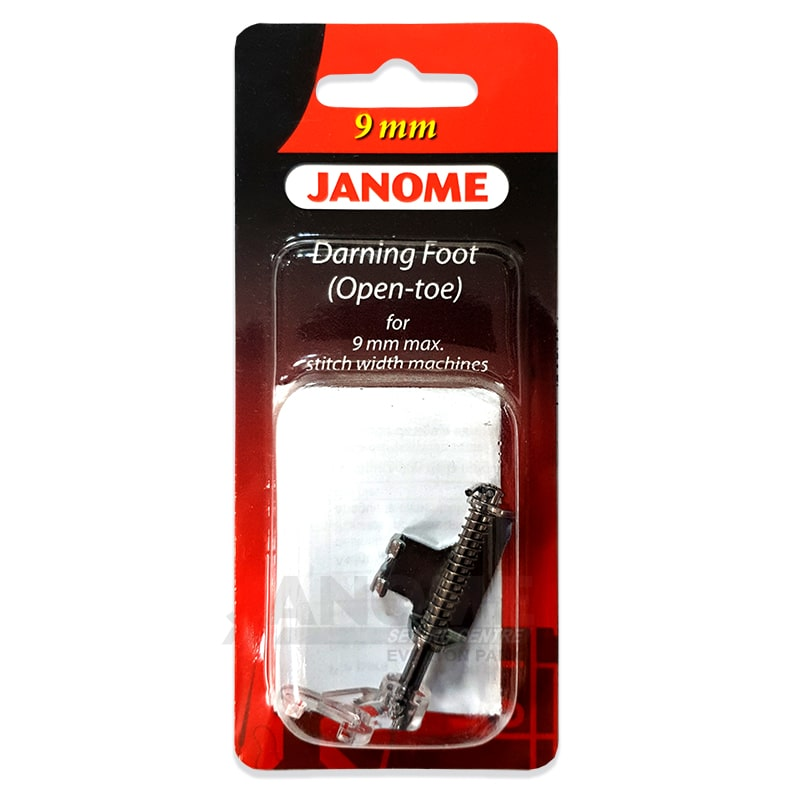 Janome Open Toe Darning Foot For 9mm Machines