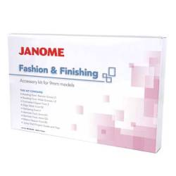 Janome 9mm Fashion & Finishing Kit