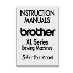 Brother Instruction Manuals for XL Series Models