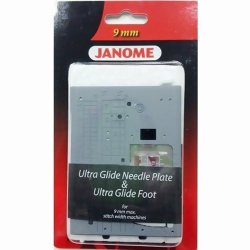 Janome Ultra Glide Needle Plate and Foot Set