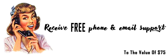 Full Phone and Email Support