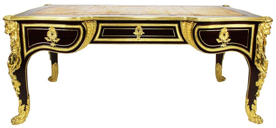 An Impressive French 19th Century Louis Xv Style Mahogany