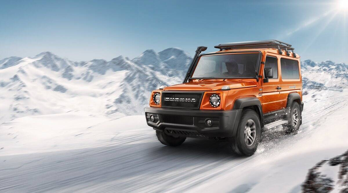 Force Gurkha may eat market share of Mahindra Thar in Off Road Vehicles segment and Tata Safari Gold in large SUV