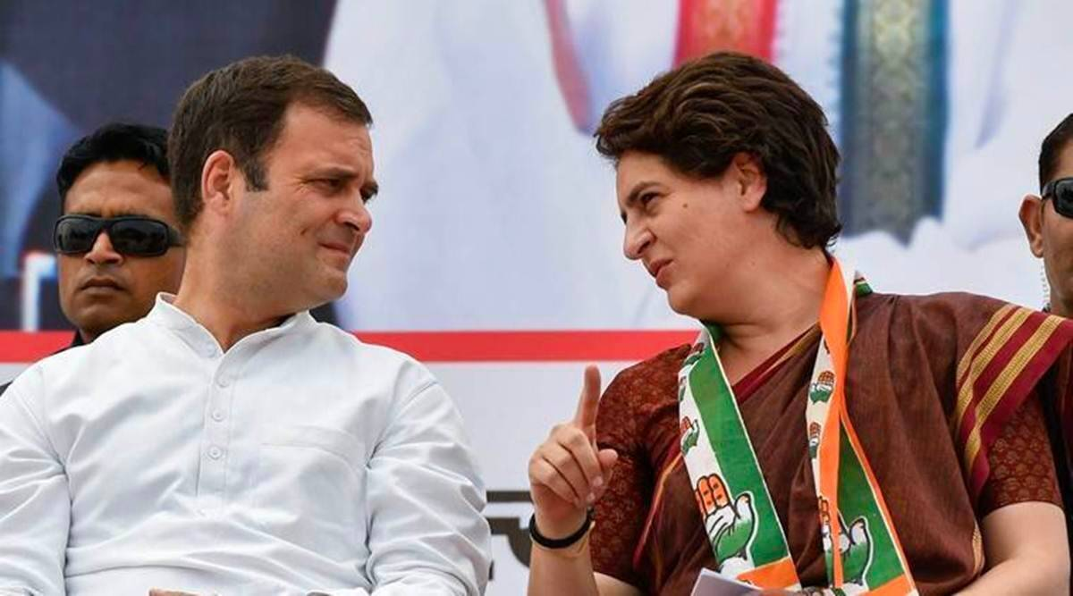 BJP targeted Congress in Rajasthan, sent air tickets to Rahul and Priyanka, said- take care of Dalits here too