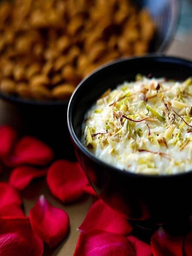Navratri Special: If you are fond of eating sweet, then make 'Phirni' like this