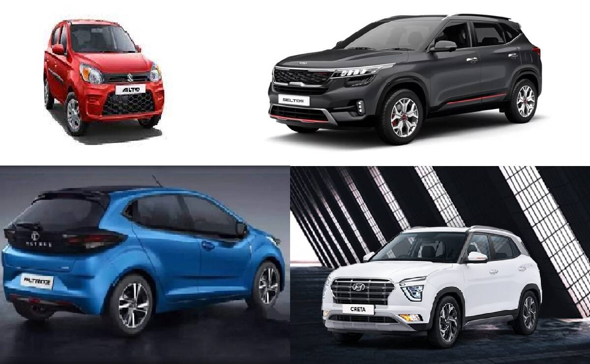 These are the top cars of September 2021!  Alto, Ertiga, Nexon Beats Creta, Sonet and Venue all the way!