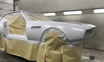 Aston Martin in de epoxy