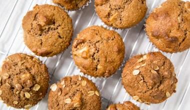 Apple Cinnamon Bran Muffins Recipe