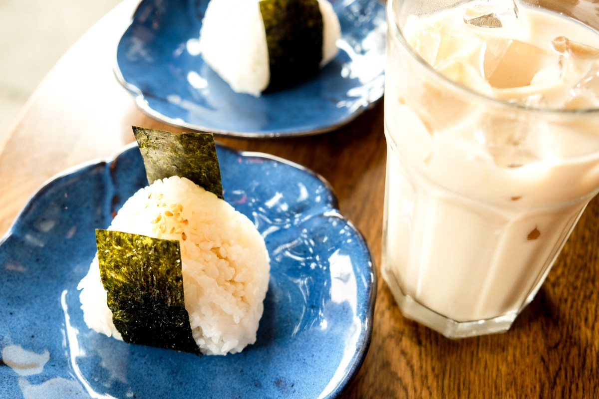 Onigiri from Dosanko Japanese Restaurant Vancouver