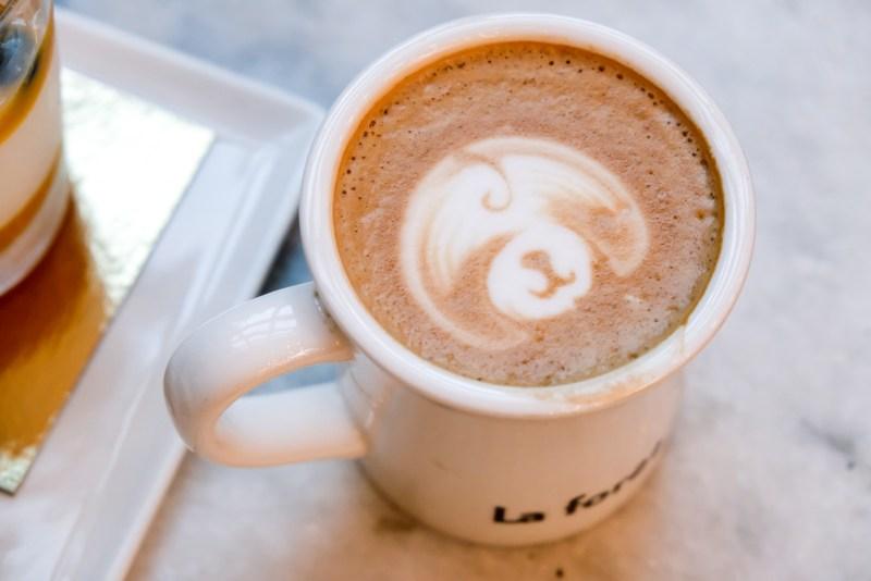 La Foret Cafe - Burnaby BC - Mocha
