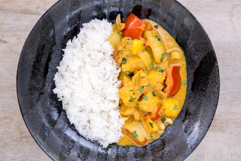 chicken & mango yellow curry recipe