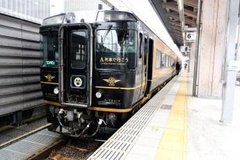 JR Kyushu A-Train to Misumi, Kumamoto