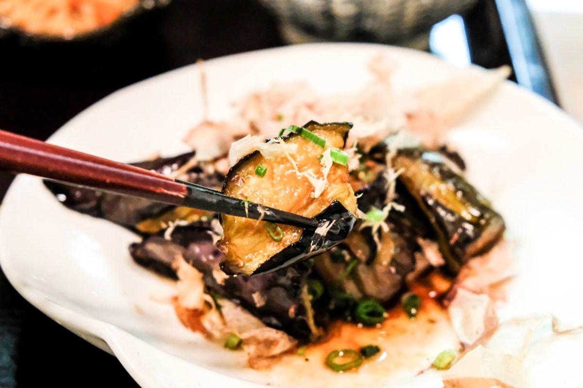 Eggplant from Bentendo Restaurant in Hakata 博多 弁天堂