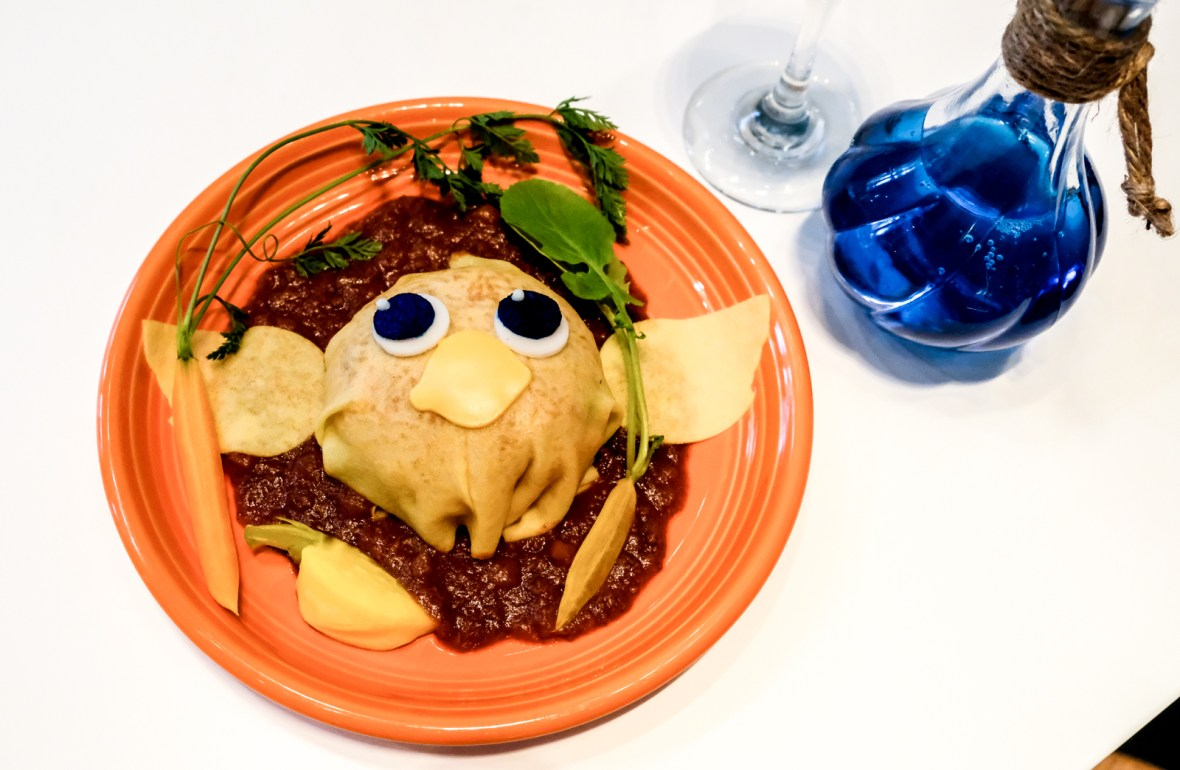 Final Fantasy 30th Anniversary Food - Sun Cafe - Chocobo Omurice