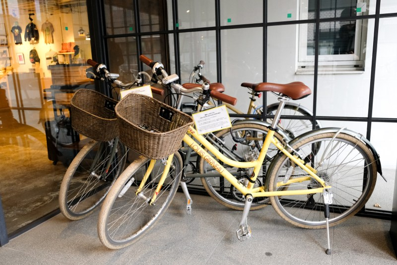 Rental Bikes - Hotel Anteroom Kyoto Review