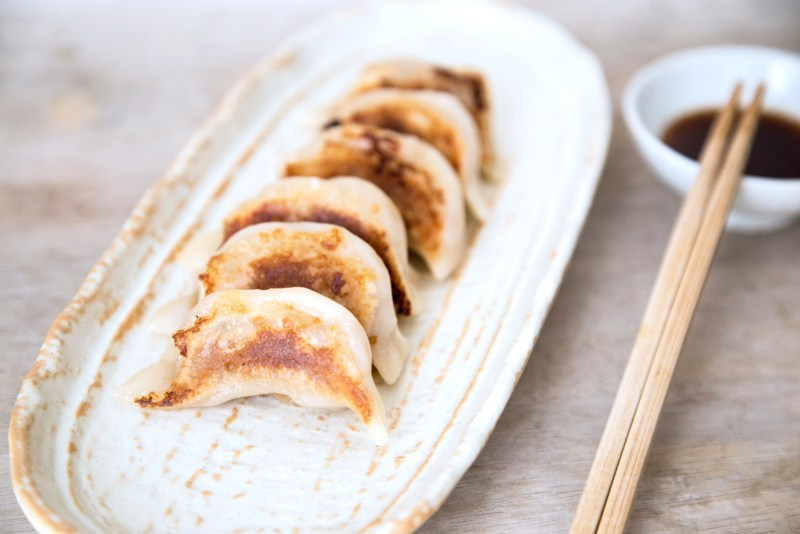Pork and Cabbage Gyoza Recipe