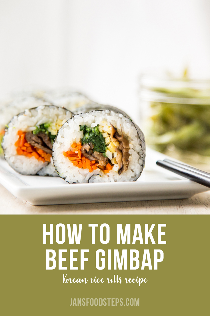 How to Make Beef Gimbap Rice Rolls Recipes