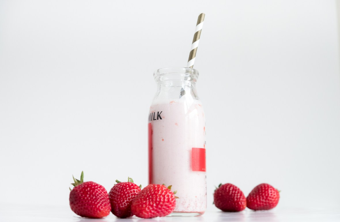 How to Make Fresh Strawberry Milk Recipe