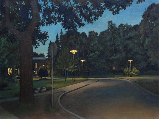 Park, 2004, 120 x 90 cm, oil on canvas