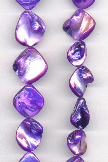 14 Str Purple Mother Of Pearl Beads Jans Jewelry Supplies