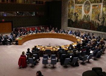 The United Nations Security Council meets about the situation of afghanistan