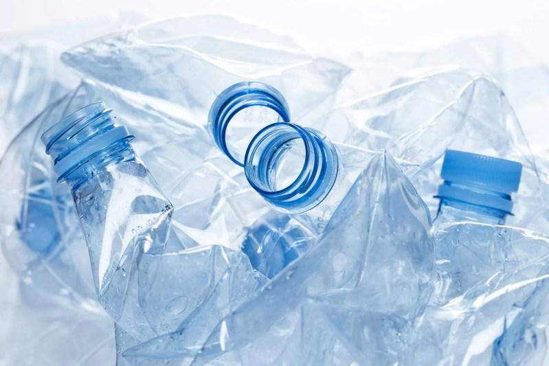 Utilization Empty Water Bottle