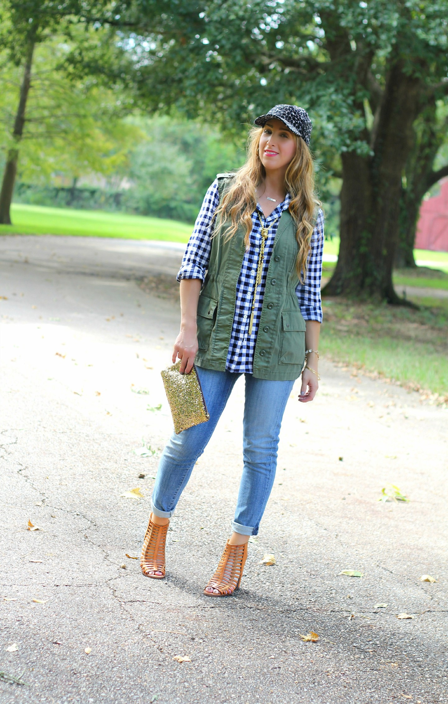 Fall gingham mix