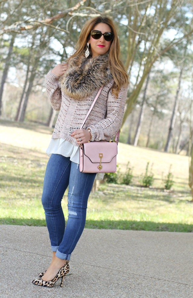 blush sweater 1