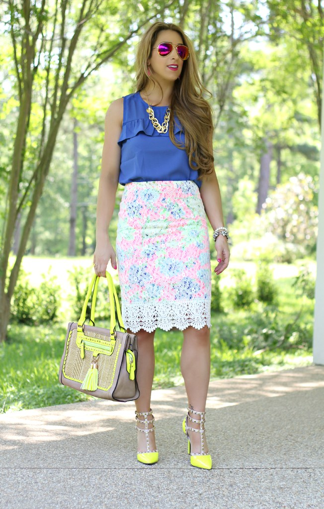 lace overlay skirt 2