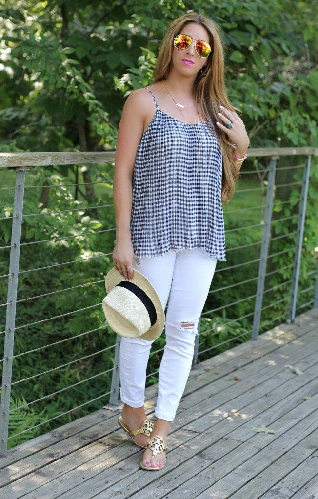 gingham top 3