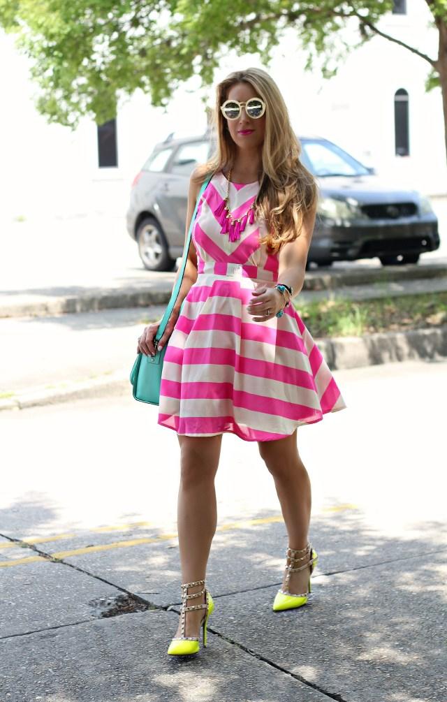 pink dress 12