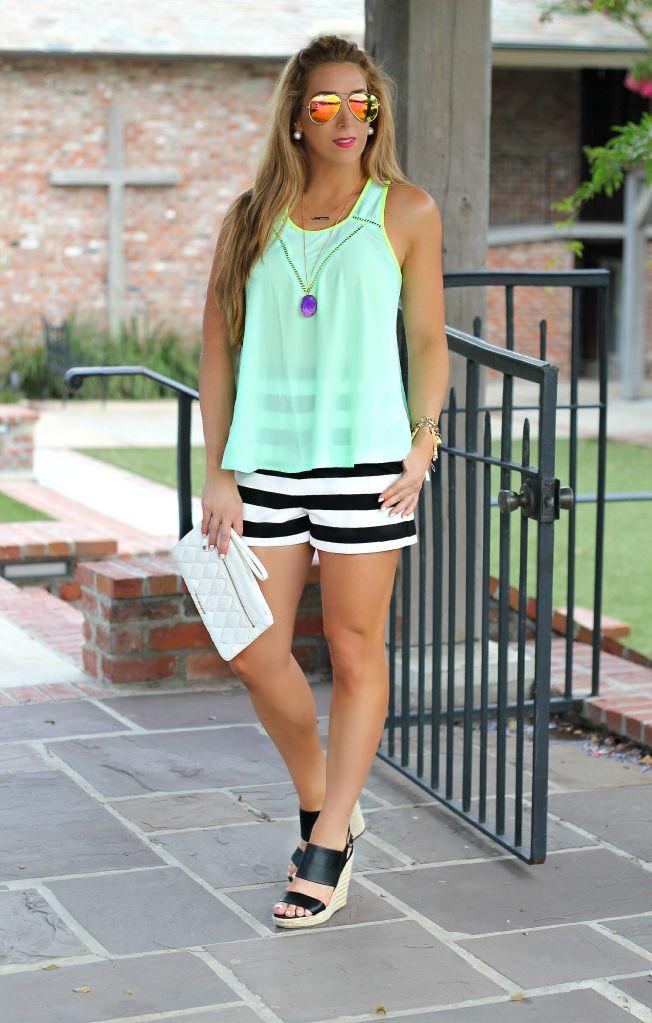 Mint stripes 1