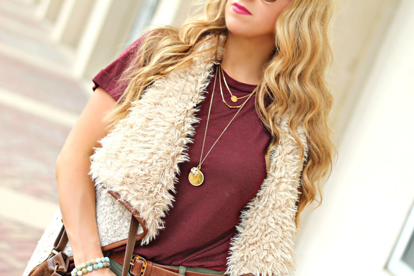 The Shearling Vest