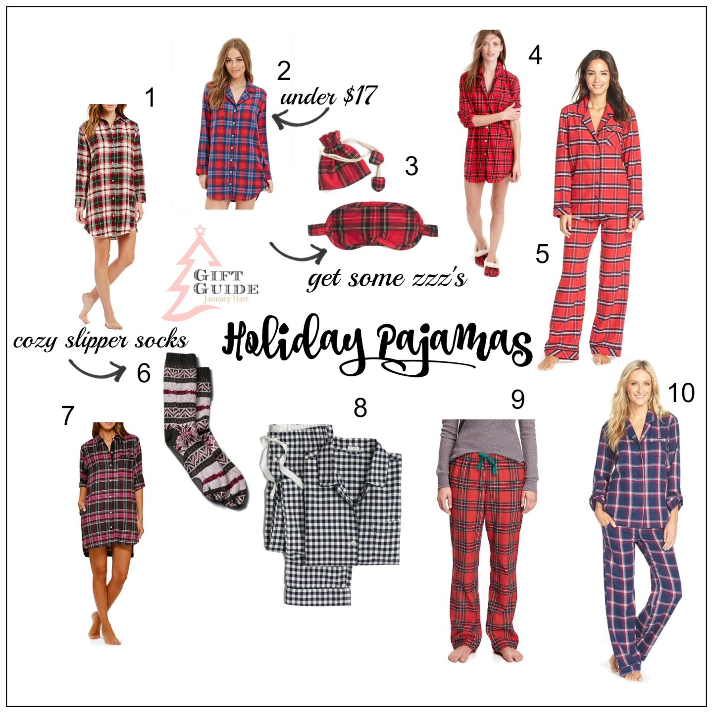 Holiday Jammies Gift Guide 2015