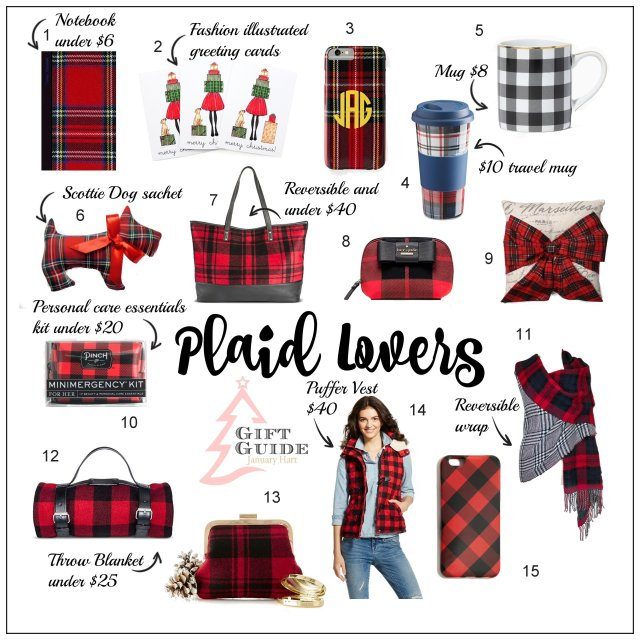 plaid lovers gift guide new