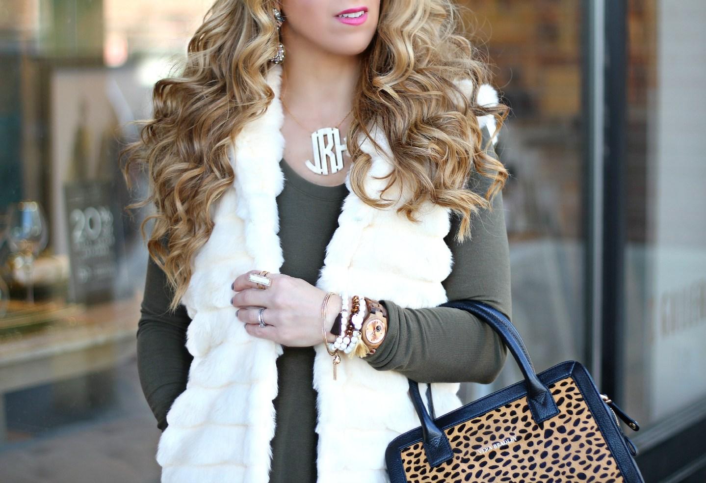 Ivory Faux Fur