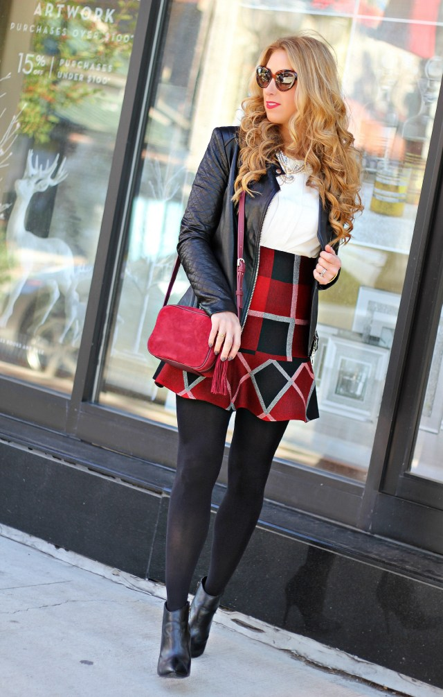 chicwish red plaid 2