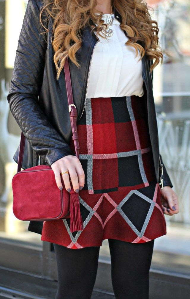 chicwish red plaid 7