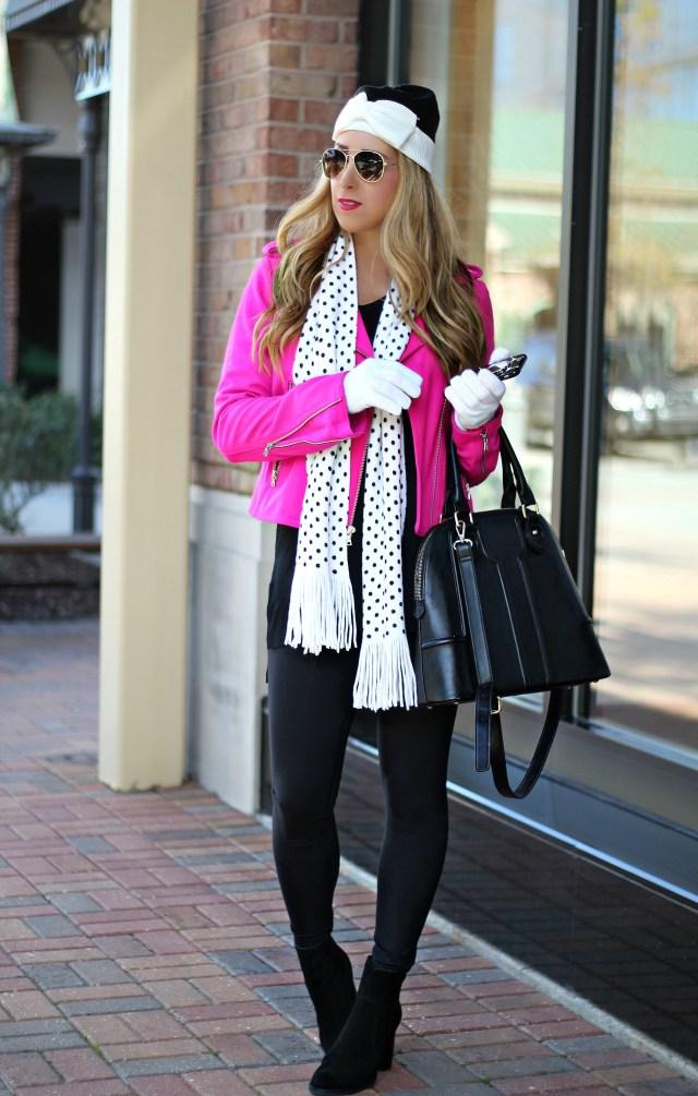 polka dot scarf 6