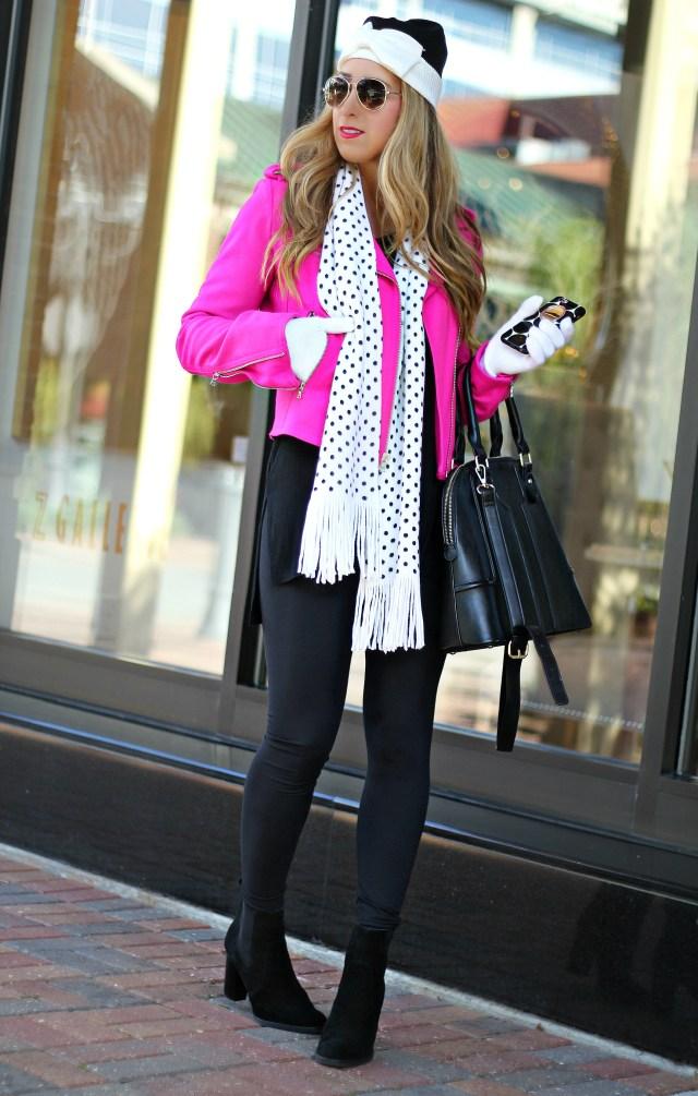 polka dot scarf 8