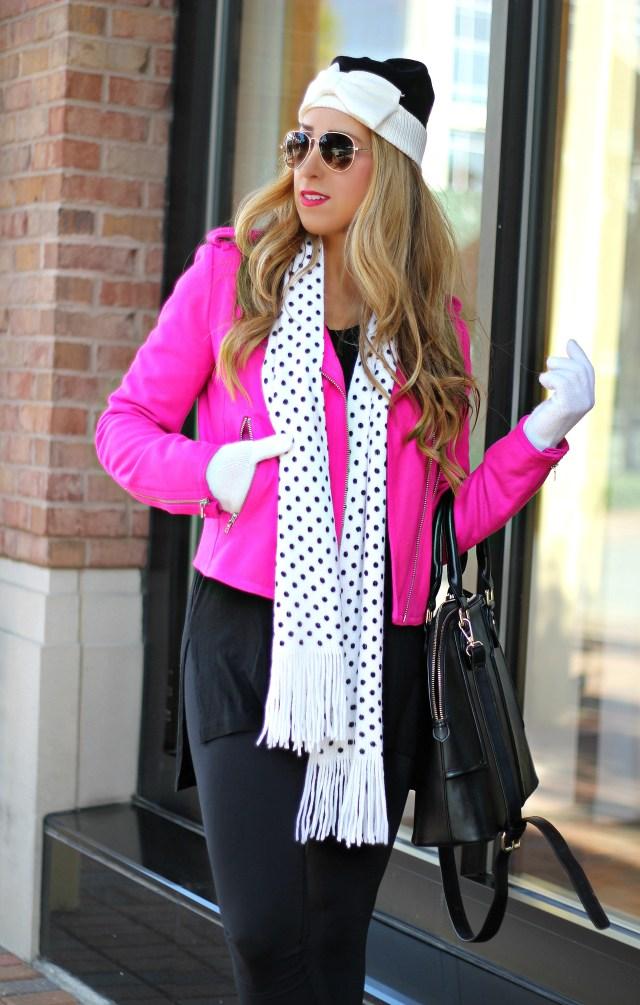 polka dot scarf 7