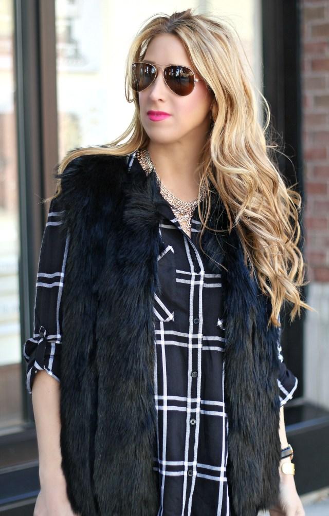 black fur vest 7