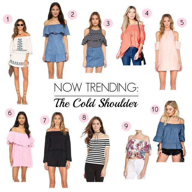 the cold shoulder trend