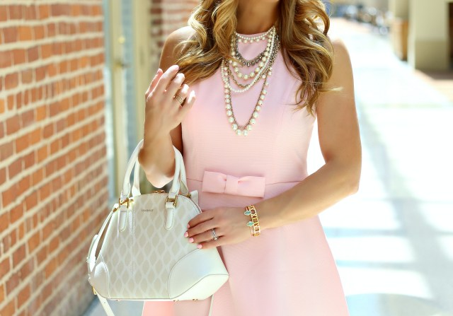 chicwish blush dress 4
