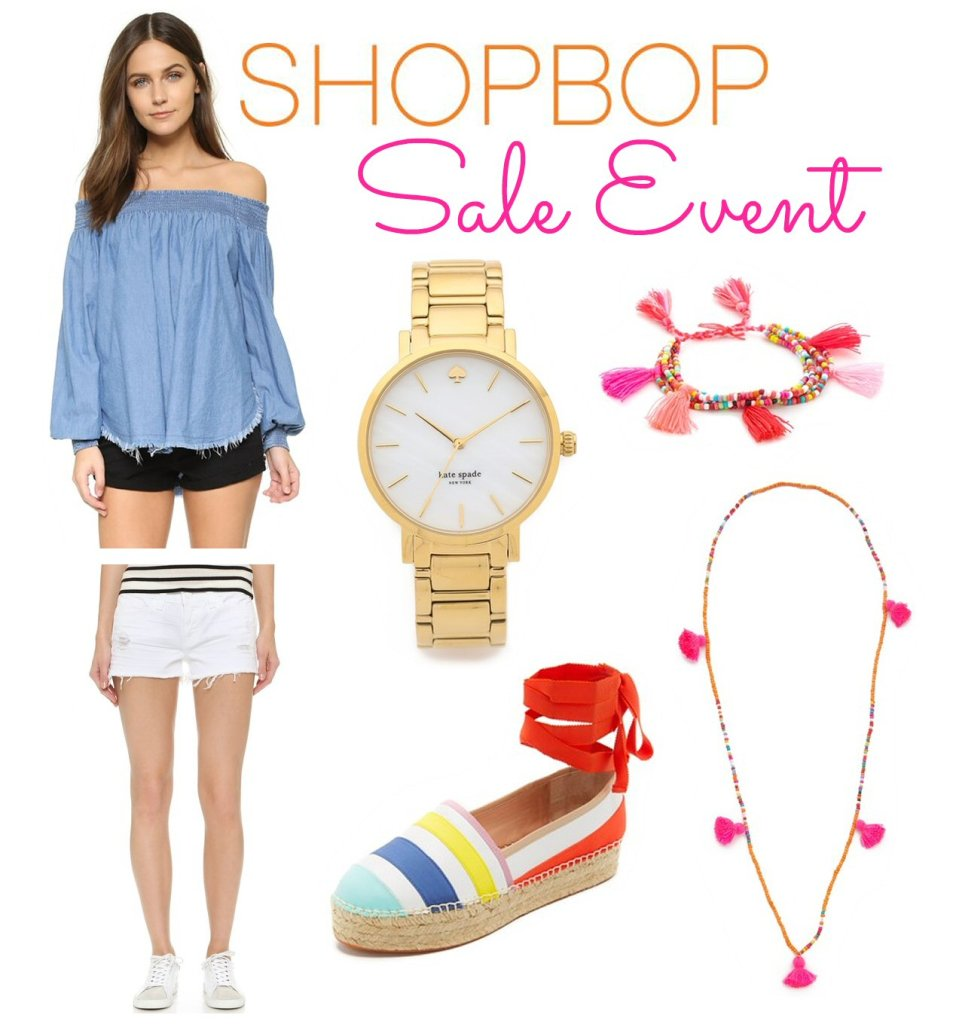 Shopbop Friends & Family Event