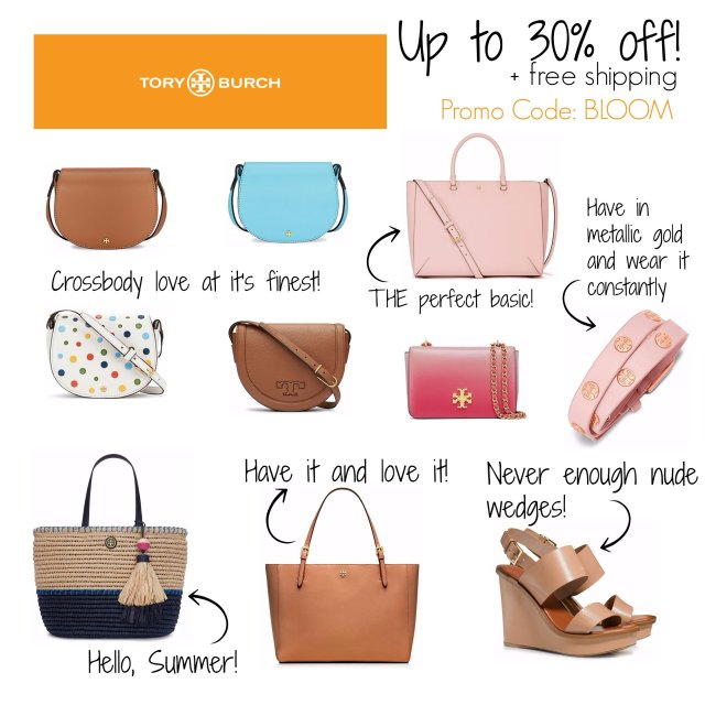 tory burch spring sale new