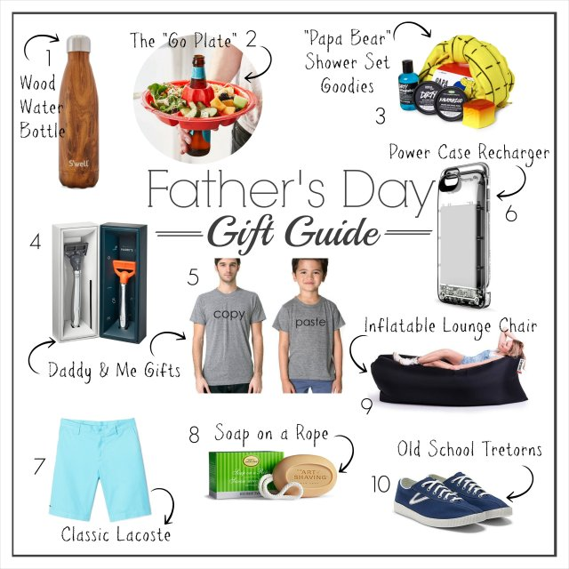 Fathers Day Gift Guide 2016