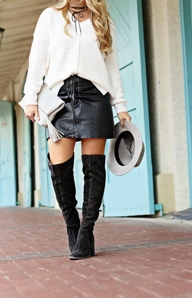 fall suede boots