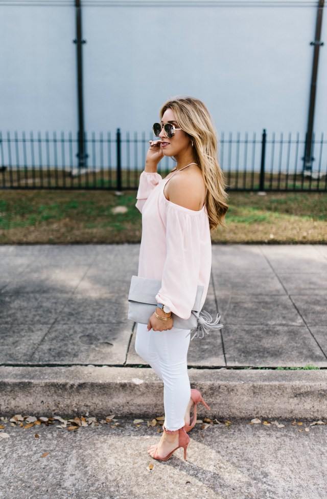 Blush Pink and Grey