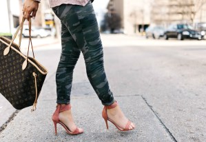 How to wear camo and blush